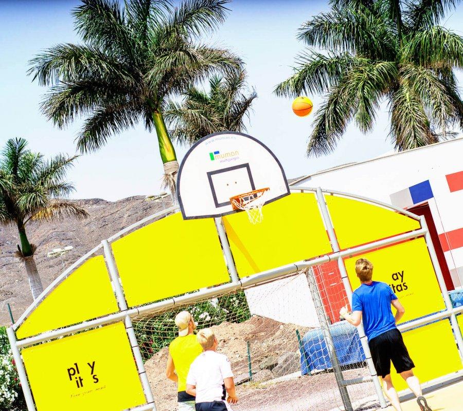 Basketball Is Teamwork!